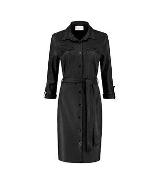 HELENA HART Helena Hart blouse dress biker zwart 7291