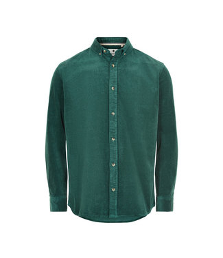 ANERKJENDT Anerkjendt akkonrad corduroy shirt 9520005 pine grove