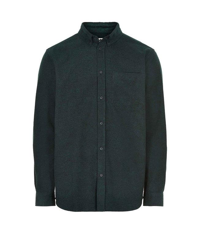 ANERKJENDT Anerkjendt Aklouis herring bone shirt 9520024 pine grove
