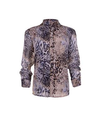 MAICAZZ Maicazz Paris blouse FA20.20.003 blue nature