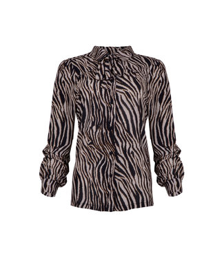 MAICAZZ Maicazz Raia-blouse tiger bronze WI20.20.003