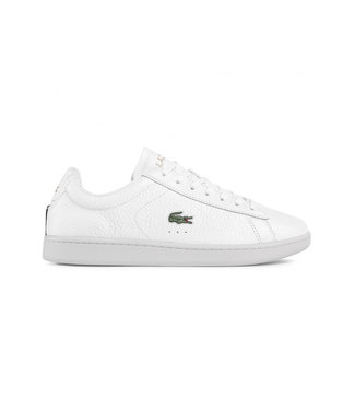 LACOSTE Lacoste carnaby evo wht/blk leather 7-40SMA0015147