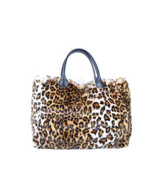 GIULIANO Giuliano leopard fur bag 900096