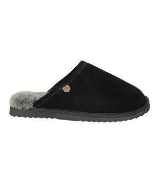 Warmbat Warmbat classic heren pantoffel CLC 5210 black