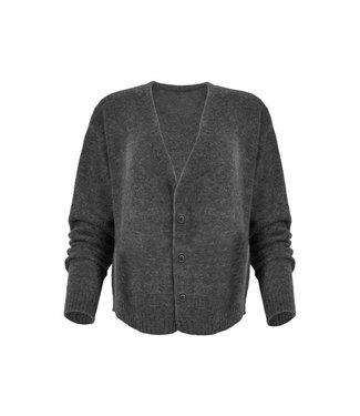 MAICAZZ Maicazz promise vest grey melange FA20.65.005