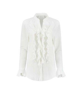 HELENA HART Helena Hart blouse volant 7258