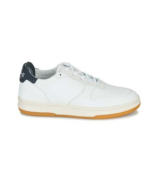 CLAE Clae heren sneaker milled leather navy CL20AMA03 white