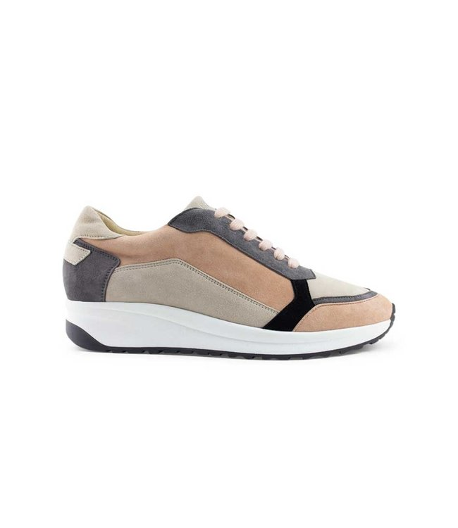 DEABUSED Deabused sneaker 7714 goat suede pink