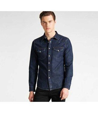 lee western shirt slim fit blue L643PLLH
