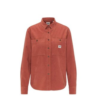 LEE Lee Worker shirt burnt ocra L46QMROM