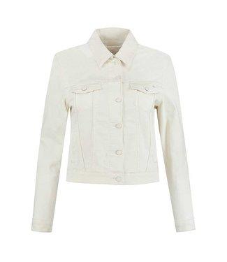 PARA MI PARA MI mae jacket 003 - off white SS211.005160 denim