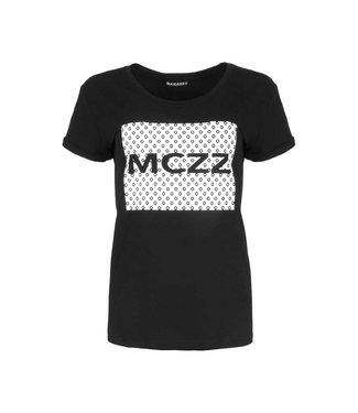 MAICAZZ MAICAZZ sira t-shirt  SP.21.75.001 black/dots print
