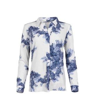 MAICAZZ MAICAZZ nisola-blouse SP21.20.010 leaf blue