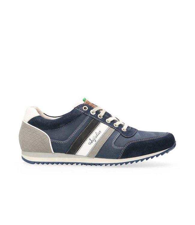 AUSTRALIAN AUSTRALIAN FOOTWEAR CORNWALL LEATHER 15.13.51.07 blue-grey-white