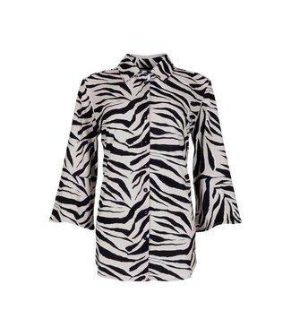MAICAZZ Maicazz Garbi Flair blouse freaky sand SU21.20.001