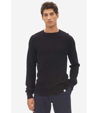 NOWADAYS NOWADAYS multi structure sweater caviar NOS022