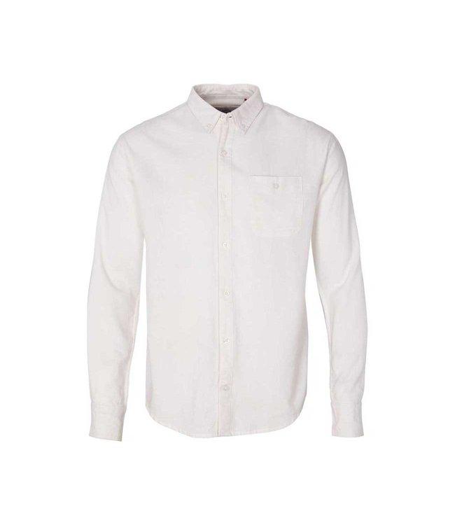 KRONSTADT Kronstadt KS3000 johan linen shirt white