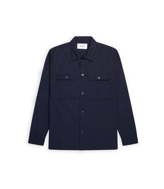 WOODBIRD WOODBIRD craix forest shirt navy style no. 2116-713