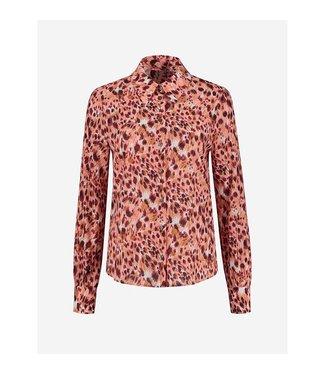 FIFTH HOUSE Fifth house Starla blouse FH 6-214 2104 apricot panther