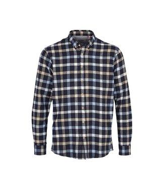 KRONSTADT Kronstadt Johan check gr.40 shirt KS3322 navy