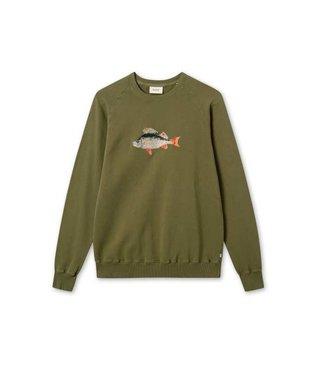 FORET Foret Bait Sweatshirt F102 Army