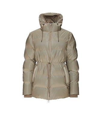 RAINS Rains  1537 Puffer W Jacket Velvet Taupe