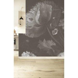 KEK Amsterdam Fototapeten 'Big black & white flowers I'