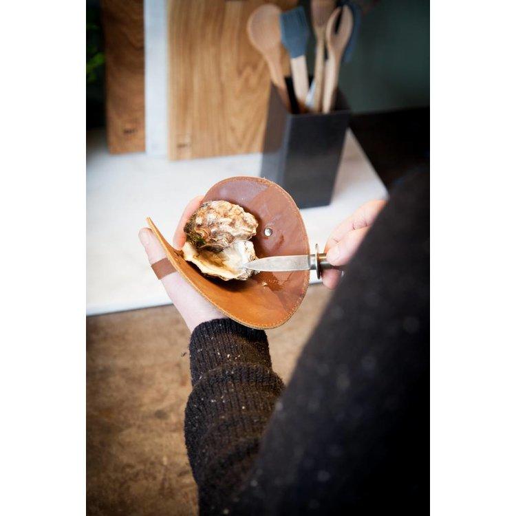 Brût Home Industrials Brût Home Industrials Austernmesser mit Lederhandschuh