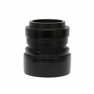 HKliving Vase Chulucanas schwarz S.