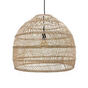 """HKliving """"Hanging lamp wicker"""" naturel - 60cm"""