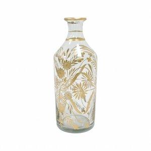 HKliving Flower vase brass painted