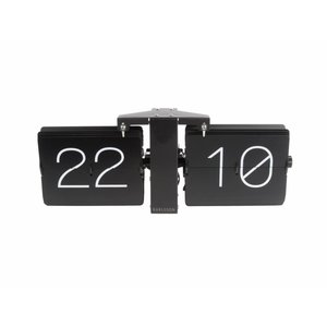 Karlsson Wall clock Flip black