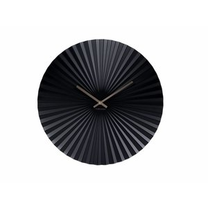 "Karlsson Wall clock ""Sensu"" Black Ø40cm"