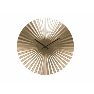 "Karlsson Wall clock ""Sensu"" Gold Ø40cm"
