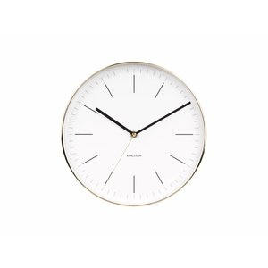 "Karlsson Wall clock ""Minimal"" Ø27,5cm"