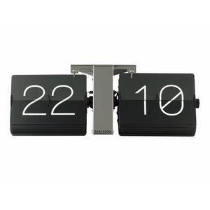 Karlsson Wall clock flip steel gray / black
