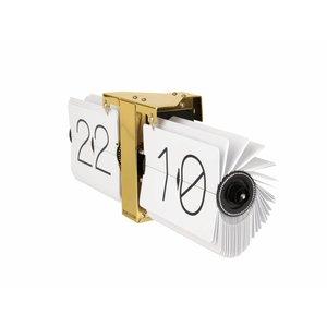 Karlsson Karlsson Wall clock Flip gold