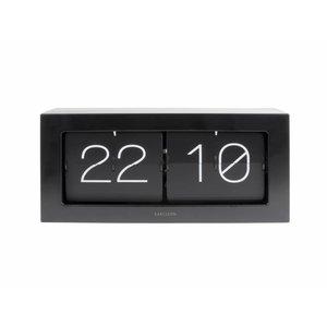 Clock Flip Boxed XL black
