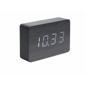 "Karlsson Table Clock / Alarm Clock ""Square"""