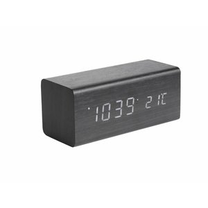 "Karlsson Table Clock / Alarm Clock ""Block"""