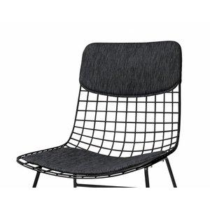 HKliving Comfort Kit Voor Draadstoel zwart