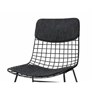HKliving wire chair comfort kit dark grey