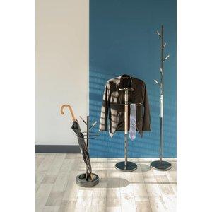 Leitmotiv Leitmotiv Umbrella stand Fushion metal/rubberwood black
