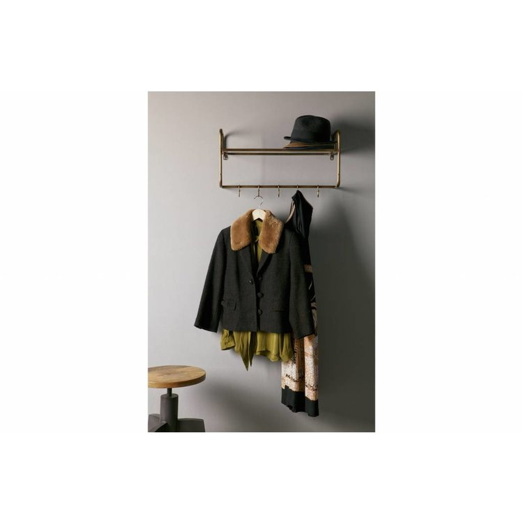 BePureHome BePureHome Hatstand coatrack antique brass