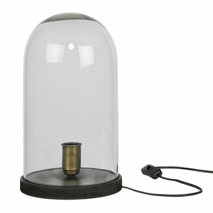 BePureHome Cover Up Table Lamp Box Black