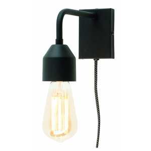 It's about Romi Wall lamp Madrid iron black