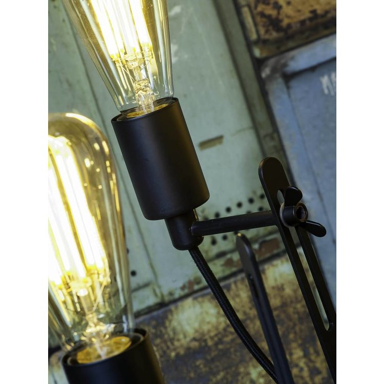It's about Romi It's about Romi Chandelier Seattle 6-arm textile thread iron black