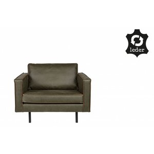 BePureHome Rodeo Armchair Army