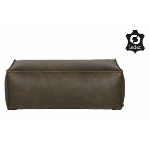 BePureHome Rodeo Puf 43x120 Army