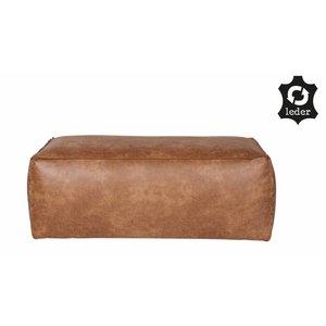 BePureHome Rodeo Puf 43x120 Cognac